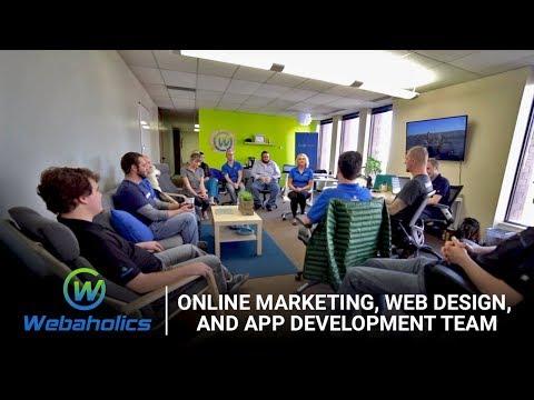 Webaholics   Online Marketing, Web Design, and App Development Team