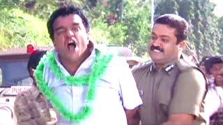 ക്രമസമാധാനം തകർന്നു.. ചാർജ് | Charge...!! | Suresh Gopi | Action Scene