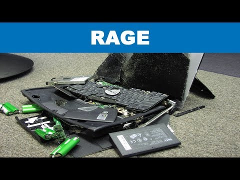 Most DESTRUCTIVE Twitch Rage Compilation (Gamers breaking their computers)