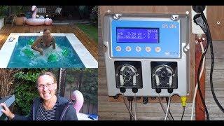 Doseersysteem zwembad installeren voor chloor en pH