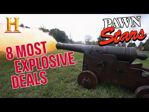 EPIC & EXPLOSIVE CANNONS (8 Crazy Expensive Deals)   Pawn Stars   History