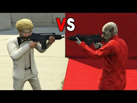 MINIJUEGO! ÁNGELES vs DEMONIOS! - GTA V ONLINE - GTA 5 ONLINE