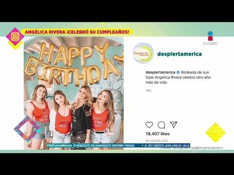 ¡Así festejó Angélica Rivera su cumpleaños!   De Primera Mano