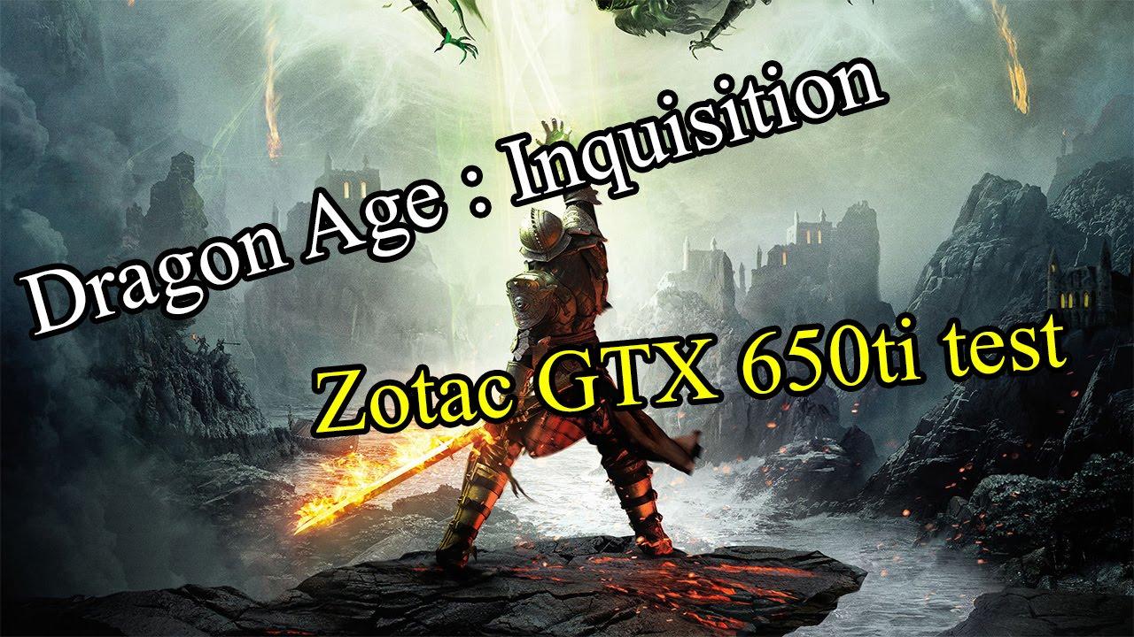Dragon Age Inquisition Zotac Gtx 650ti Test Youtube