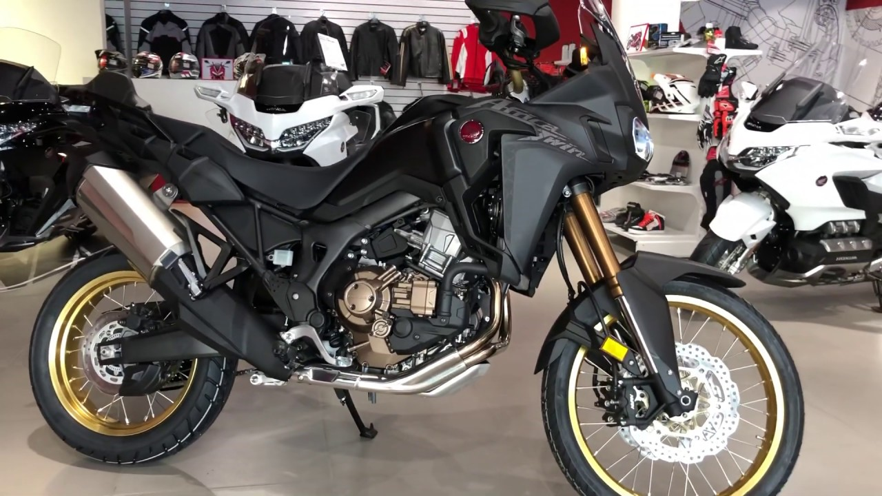 africa twin black 2019 honda youtube. Black Bedroom Furniture Sets. Home Design Ideas