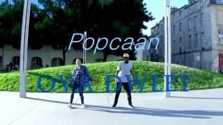 Popcaan - Ova Dweet DH choreo by afrojamaddict33 Mwen March & IBI D