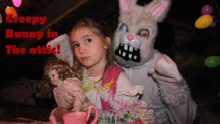 Doll Maker Evil Easter bunny  in the attic part 2