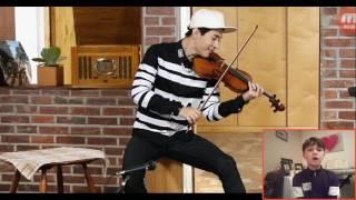 vuclip English Boy reacting to Kpop Musical Genius Henry