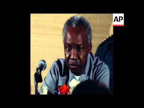 SYND 24 7 79 NYERERE PRESS CONFERENCE