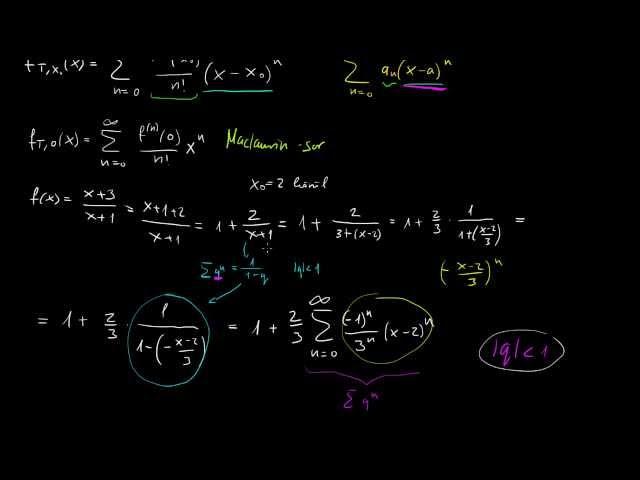 Taylor-sorfejtés egy trükkös példán keresztül, nem a definícióval
