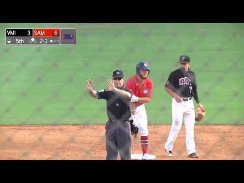Samford baseball tops VMI, 10-6; Clinches No. 2 seed in SoCon Tournament