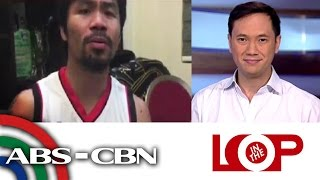In the Loop: Pacman's song for Floyd fight