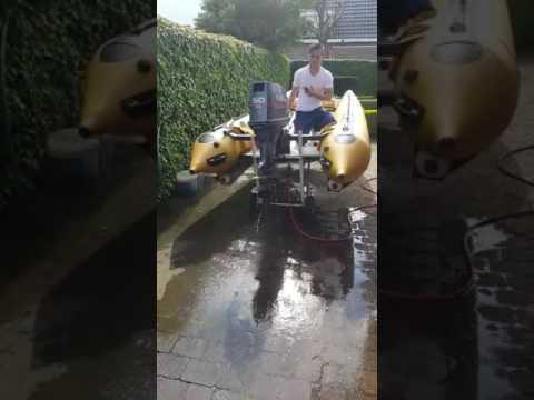zapcat yamaha 50hp outboard exhaust