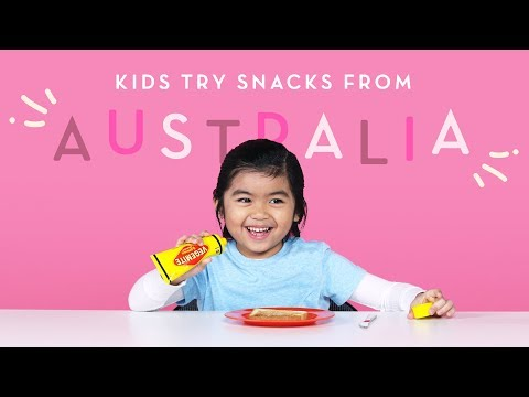 Kids Try Snacks from Australia | Kids Try | HiHo Kids