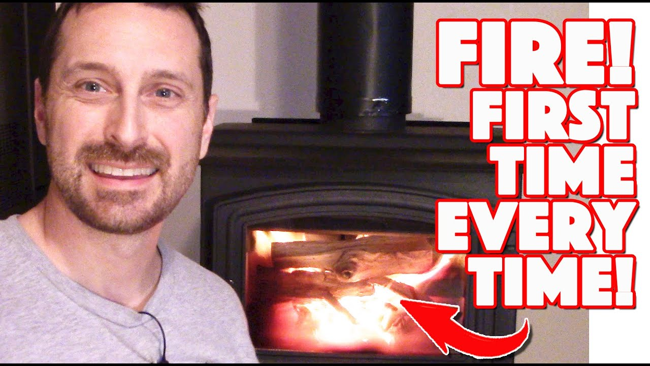 Download Wood Stove Tips And Tricks   How To Start A Fire The First Time, Every Time!