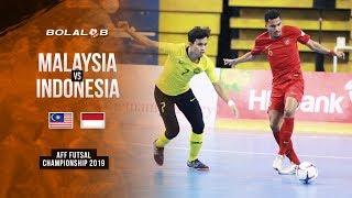 MENANG DRAMATIS!! Malaysia (2) vs (3) Indonesia - AFF Futsal Championship 2019