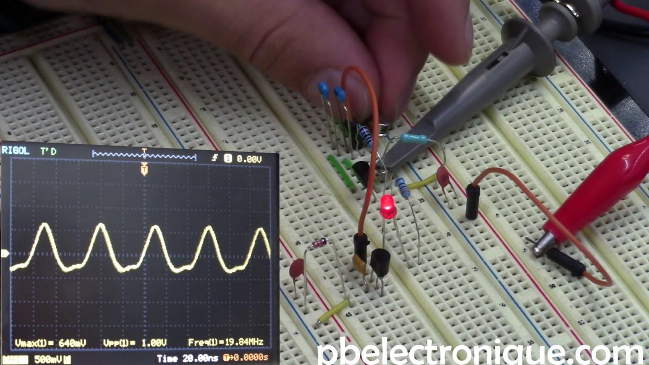 Testeur De Quartz Youtube 20mhz Crystal Oscillator Circuit Signalprocessing