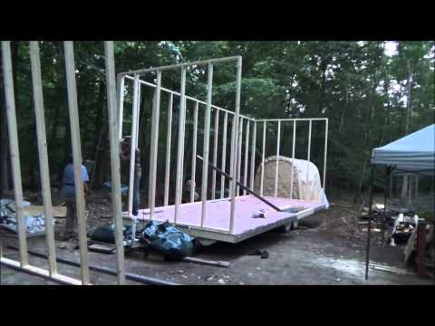 Raising The Walls Of My Tiny Home Unedited