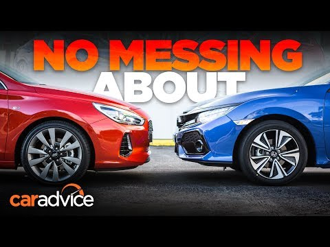 Honda Civic v Hyundai i30 comparison | CarAdvice