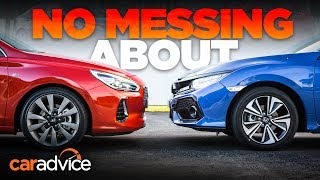 Honda Civic v Hyundai i30 comparison CarAdvice