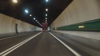 Mont Blanc Tunnel Italy France