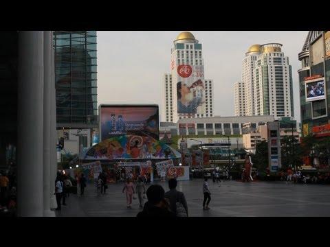 2013 HD Outside Central World Plaza Shopping Mall Bangkok Thailand