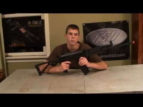ICS Galil AR Airsoft Review
