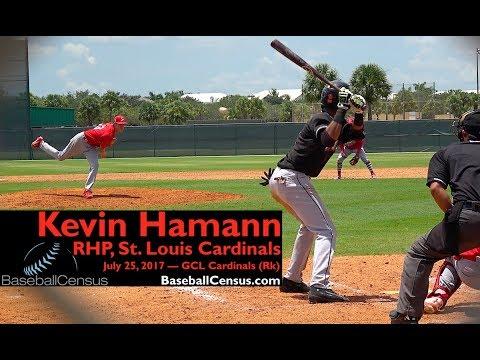 Kevin Hamann, RHP, St. Louis Cardinals — July 25, 2017