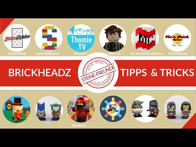 Brickheadz - coole Modelle mit Tipps und Tricks.