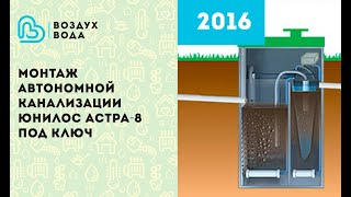 видео Принцип работы септика: обзор устройства и систем очищения популярных марок