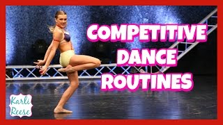 competitive dance routines 2017 season