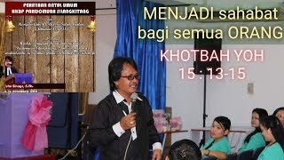 Gambar cover Pdt Toho Sinaga | Menjadi SAHABAT BAGI semua orang