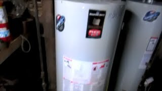 40 gallon natural gas water heater replacement