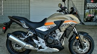 2016 Honda CB500X ABS Adventure Motorcycle | Walk-Around Video (500cc) | Review at HondaProKevin.com(2016 Honda CB500X Review / Specs - Horsepower & Torque Performance Numbers / MPG / Prices etc at http://www.HondaProKevin.com., 2016-04-05T22:20:57.000Z)