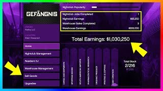Become A Millionaire FAST & EASY - GTA Online After Hours DLC Nightclub Business Money Making Guide!