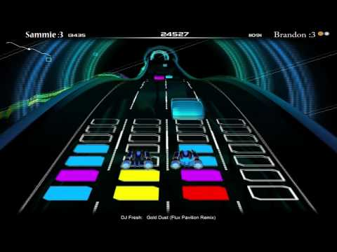 Audiosurf - Gold Dust (Flux Pavillion Remix)
