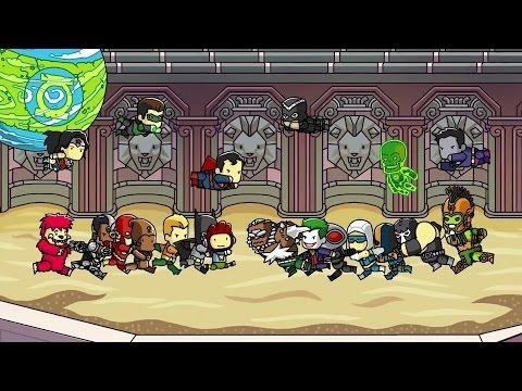 Scribblenauts Unmasked DC Universe Adventure Gameplay  