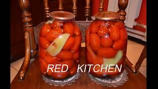 Консервирование помидоров. Сладкие помидоры, без стерилизации.