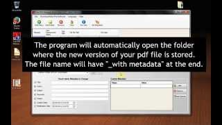 How To Remove / Delete The Hidden Metadata In PDF Files