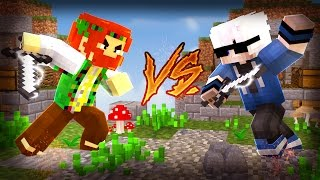ENCONTREI O SPOP NO SKYWARS - MINECRAFT SKYWARS
