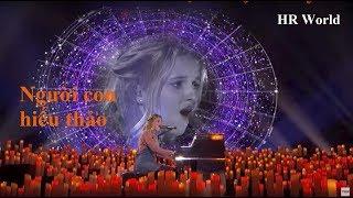 [Eng-Vietsub] Evie Clair: cô bé hiếu thảo hát tặng người ba bị ung thư (Tứ Kết America's Got Talent)