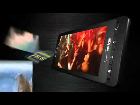 The Motorola™ DROID X - Commercial
