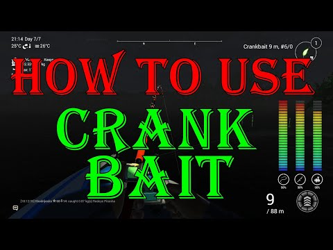 Fishing Planet - How to use  | CRANKBAİT |