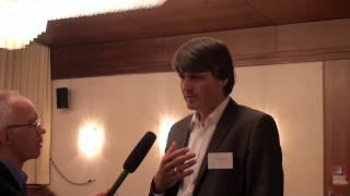 """Jan Ehlting,Tieto auf dem 1. Praxis-Kongress """"Mobilität im Gesundheitswesen"""""""