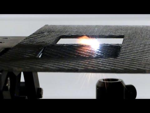 Laser Cutting of Carbon Fiber Reinforced Polymer CFRP | Andritz Powerlase
