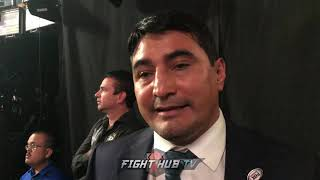 ERIK MORALES REACTS TO CANELO JACOBS WEIGH IN