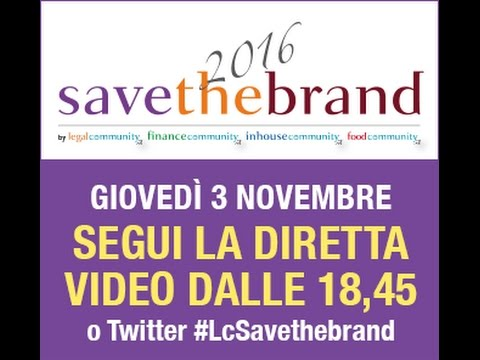 Save The Brand 2016 - Fashion • Food •  Furniture
