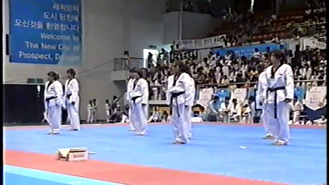 KBS - World Tkd Hanmadang 2009 (S'pore Team A)