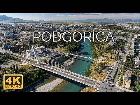 Podgorica, Montenegro 🇲🇪 | 4K Drone Footage
