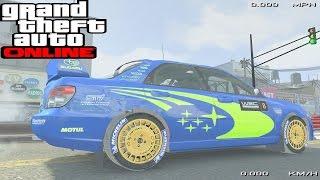 New Subaru Rally Wrc Boxer Engine Sound Mod Gta Online Pc
